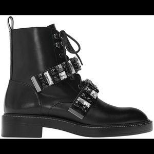 Best offer..Crystal embellished Zara biker boot 🥾